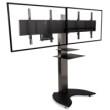 Easyx Dual — Напольная стойка для двух экранов/ТВ